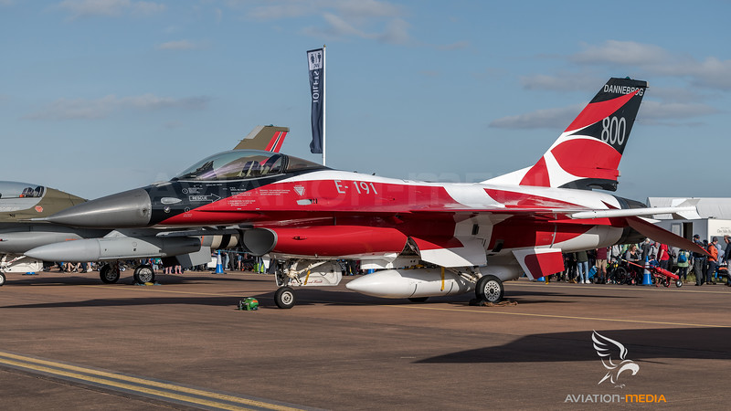 Royal Danish Air Force / General Dynamics F-16A Fighting Falcon / E-191 / 40 Years Eskr 730 Livery