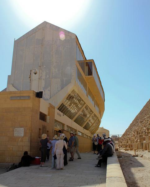 Solar Boat at Giza 2011