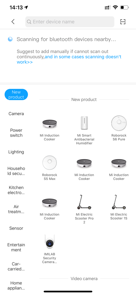 Xiaomi App for Vacuum Cleaner
