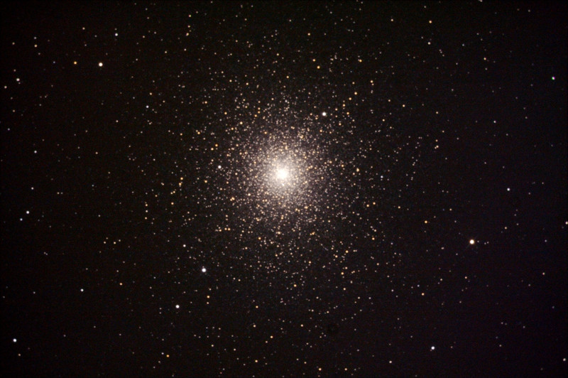 Caldwell 106 - NGC104 - 47 Tucanae Globular Cluster - 23/10/2013 (Processed stack)