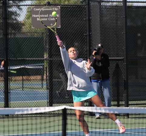 2021 Girls Tennis Semi-state at Homestead - 5/29/21