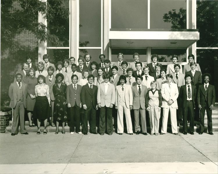 1979 Bailey Cadet Class with RoviSys employees Tom Dormo, Ed Bastijanic, John Hall, Jeff Knuth, and John Robertson
