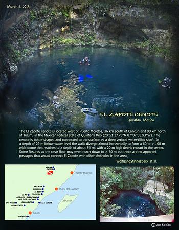 Hells Bells - cenote Zapote , Mexico