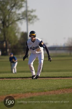 Breck v Minneapolis Washburn Baseball 4-15-10