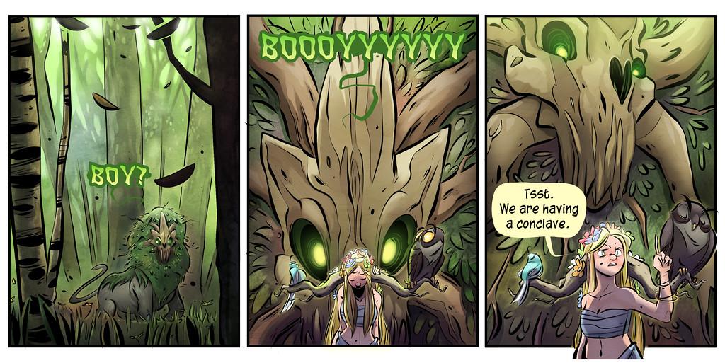 The Judging Wood, Part Three
