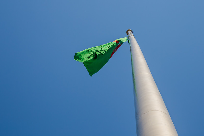 Largest Flag Pole  in the world Ashgabat Turkmenistan