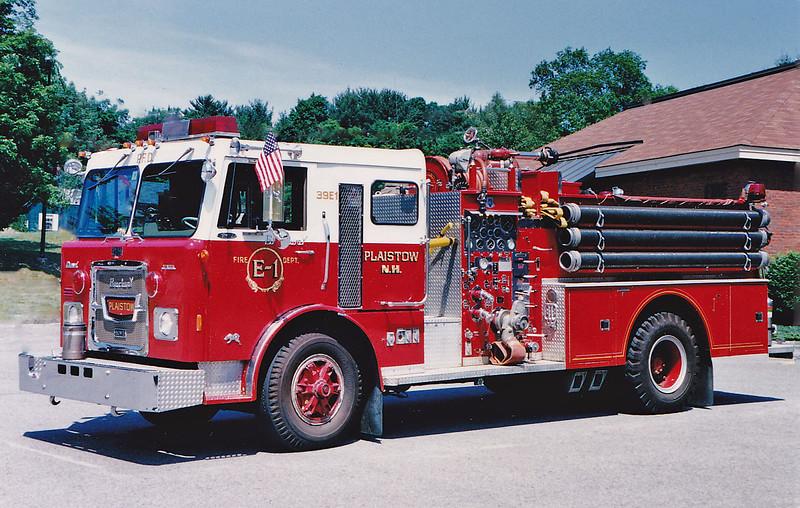 Retired.  Engine 1.  1977 Brockway Howe.  1250 / 500