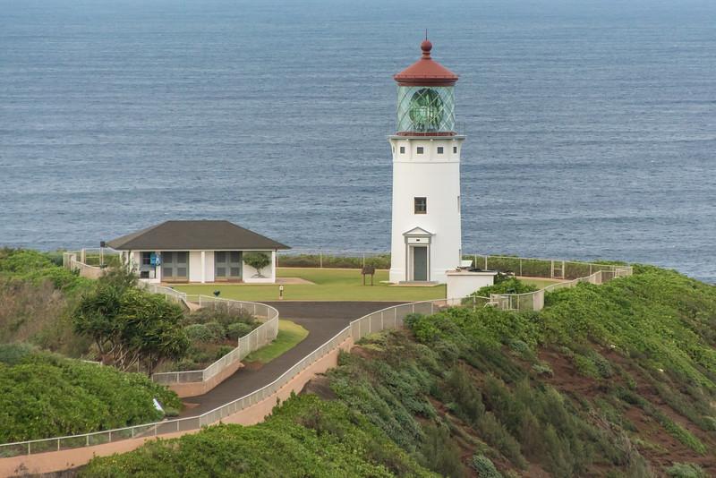 Kilaueu Lighthouse on north shore