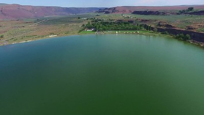 Soda and Lorene Lakes in the Grand Coulee