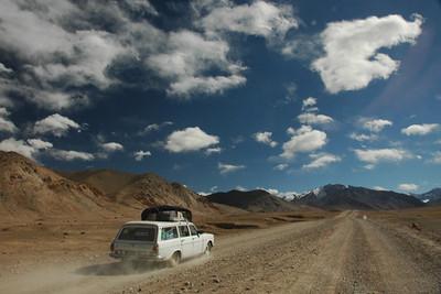 Pamir Mountains to Murghab, Tajikistan