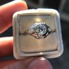 .80ct Vintage Old European Cut Diamond Dome Ring 19