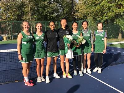 Tennis Senior Day