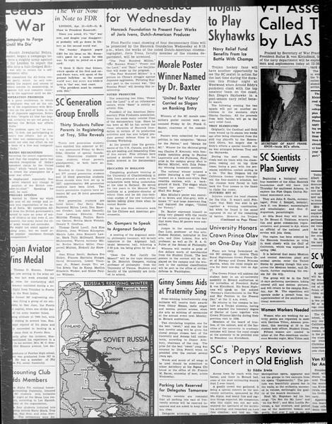 Daily Trojan, Vol. 33, No. 105, February 04, 1942