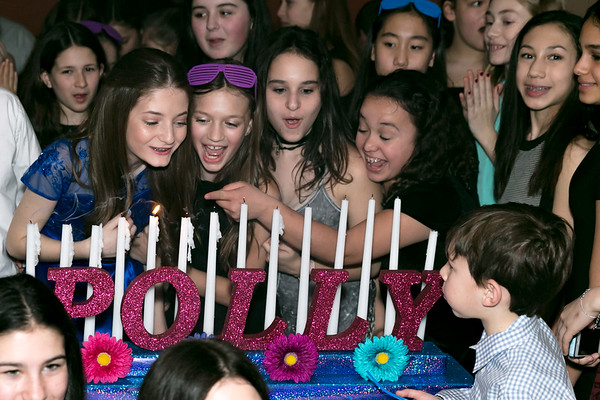 Hora, Motzi, Candles & Speeches with Polly