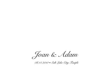 Joan & Adam