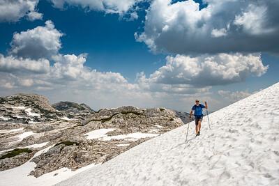 Alpy - Grosses Tragl (2179m) - červen 2019