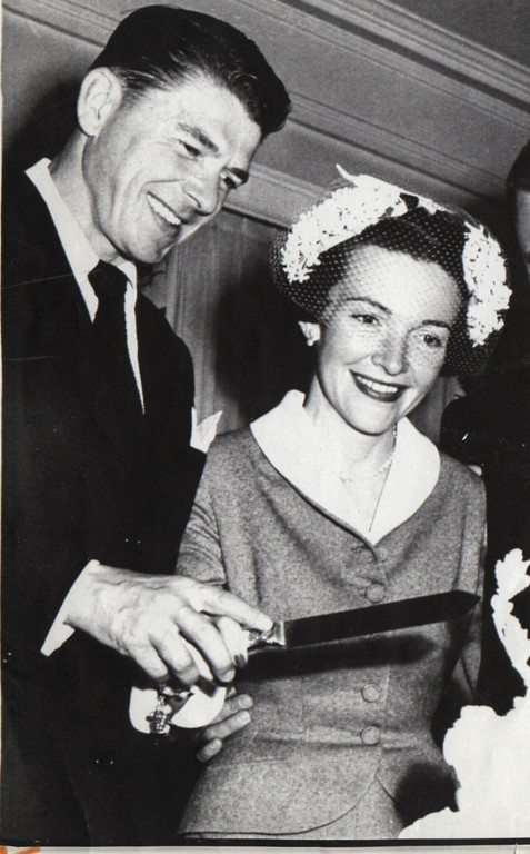 . Ronald Reagan married Nancy Davis in 1952.  (Los Angeles Daily News file photo)