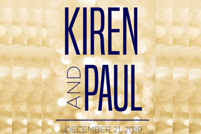Kiren & Paul 12/21/19