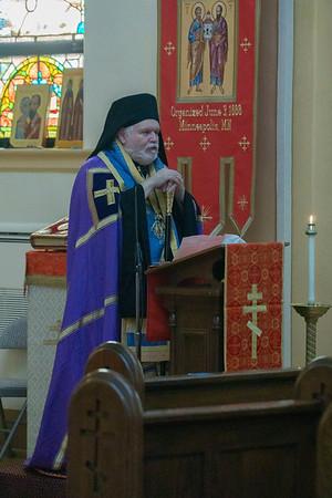 Visit by Archbishop Paul