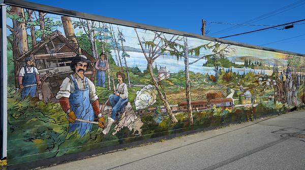 Chemainus, BC - World Famous Murals