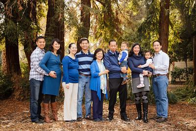 Hu Extended Family 2015