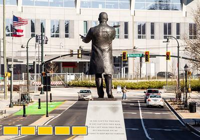 MLK new Statue
