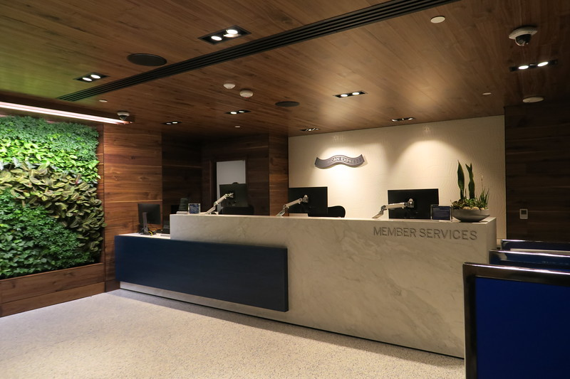 American Express Centurion Lounge at LAX