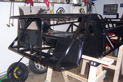 Frame prep and painting