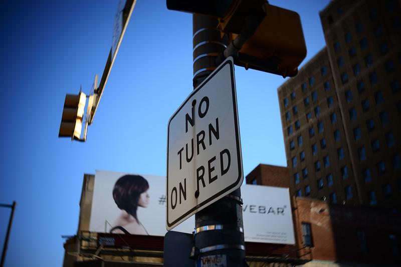 No Turn---Philadelphia, PA