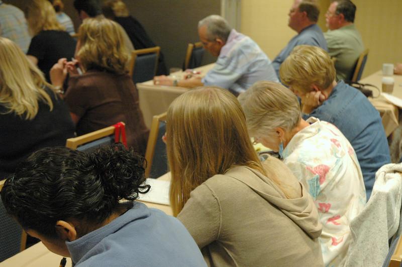"Participants at the ""Social Media Marketing"" workshop"