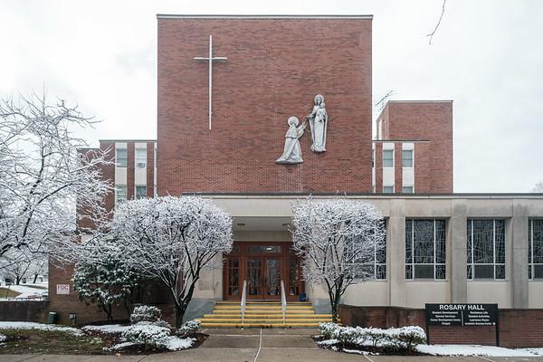 2019 Snow Pictures around campus