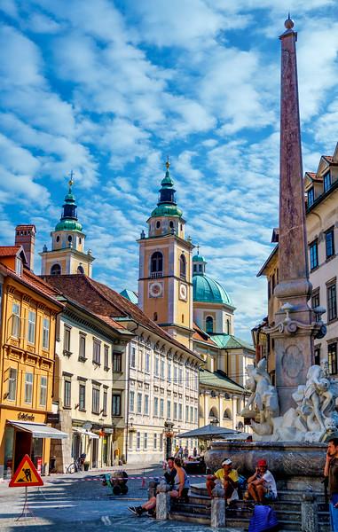 Colorful Ljubljana!