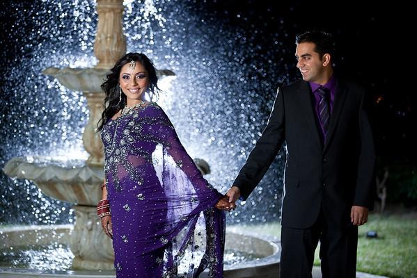 Ankita and Krishan Reception