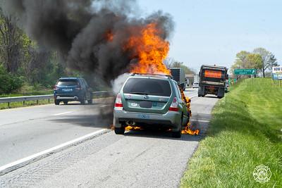 30 Bypass - Vehicle Fire