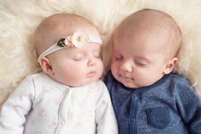 Twins - 3 Months