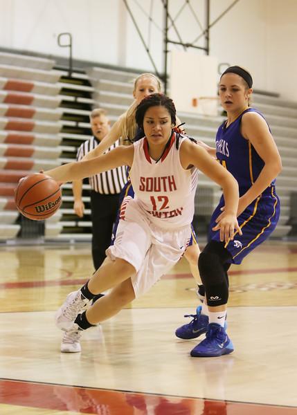 SNHS Girls Basketball vs PBL 2016