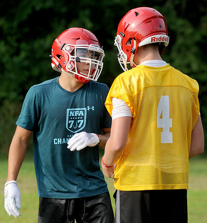 Yorkville Football Practice - Aug. 6, 2018