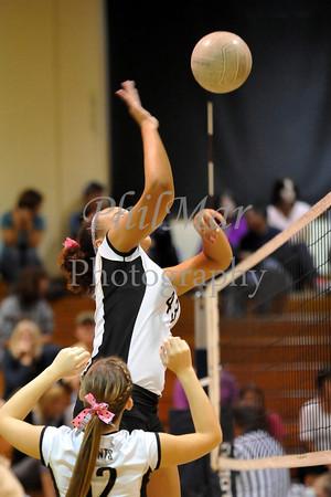 Berks Catholic vs Oley Valley Girls High School Volleyball 2012 - 2013