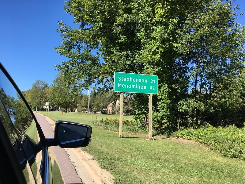 Stephenson 33 km