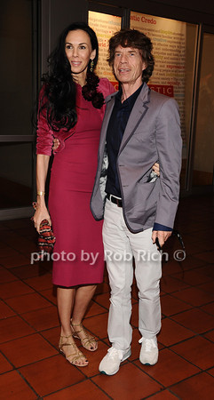 L'wren Scott & Mick Jagger photo by Rob Rich/SocietyAllure.com © 2010 robwayne1@aol.com 516-676-3939