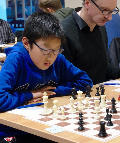 Yichen Han, open section joint winner
