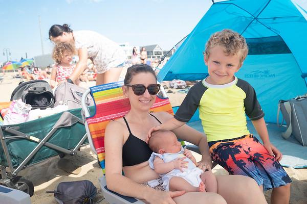 family beach day - 6/26/20