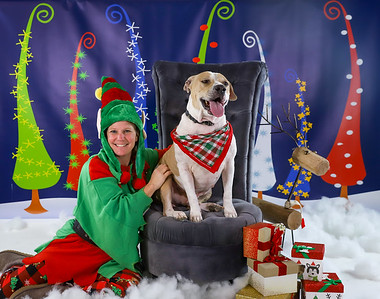 Brandy Craig - Chipotle - Pet Pics with Santa