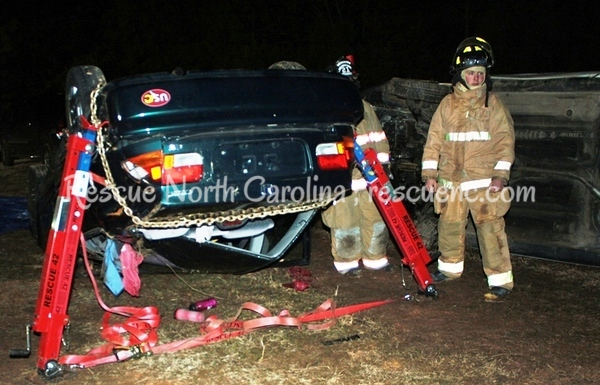 Mineral Springs VFD;  TR Vehicle Rescue