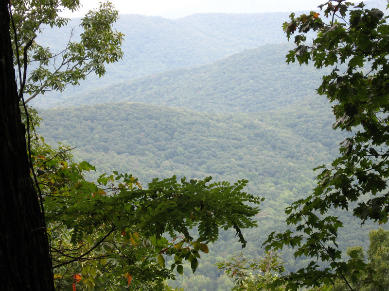 OMG - a mountain view in Georgia!