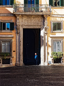 The big door