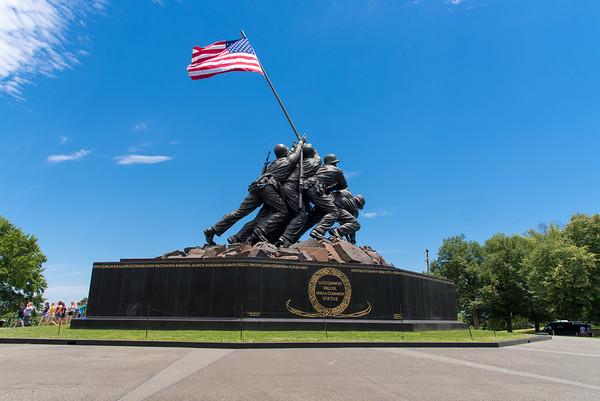 9. US Marine Corps War Memorial