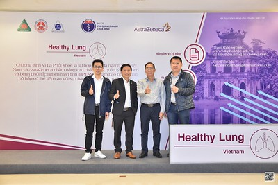 AstraZeneca | Healthy Lung instant print photo booth @ Pullman Hanoi Hotel | Chụp hình in ảnh ngay tại TP Hà Nội | WefieBox Photobooth Hanoi