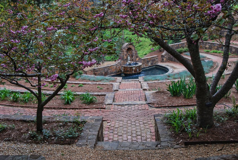 Sunken Garden at at Oak Hill