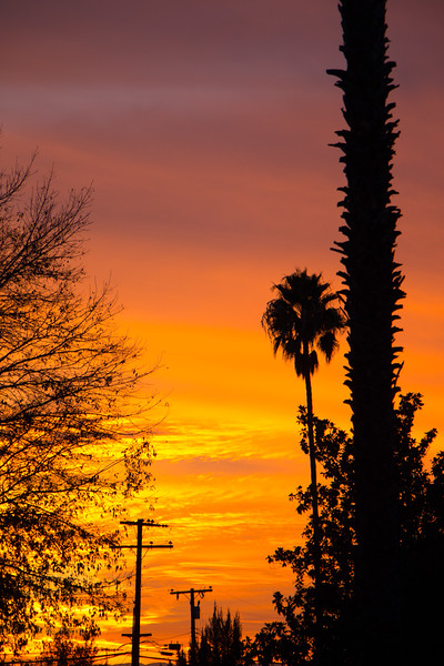 Sunset on Christmas Eve - Calimesa, CA